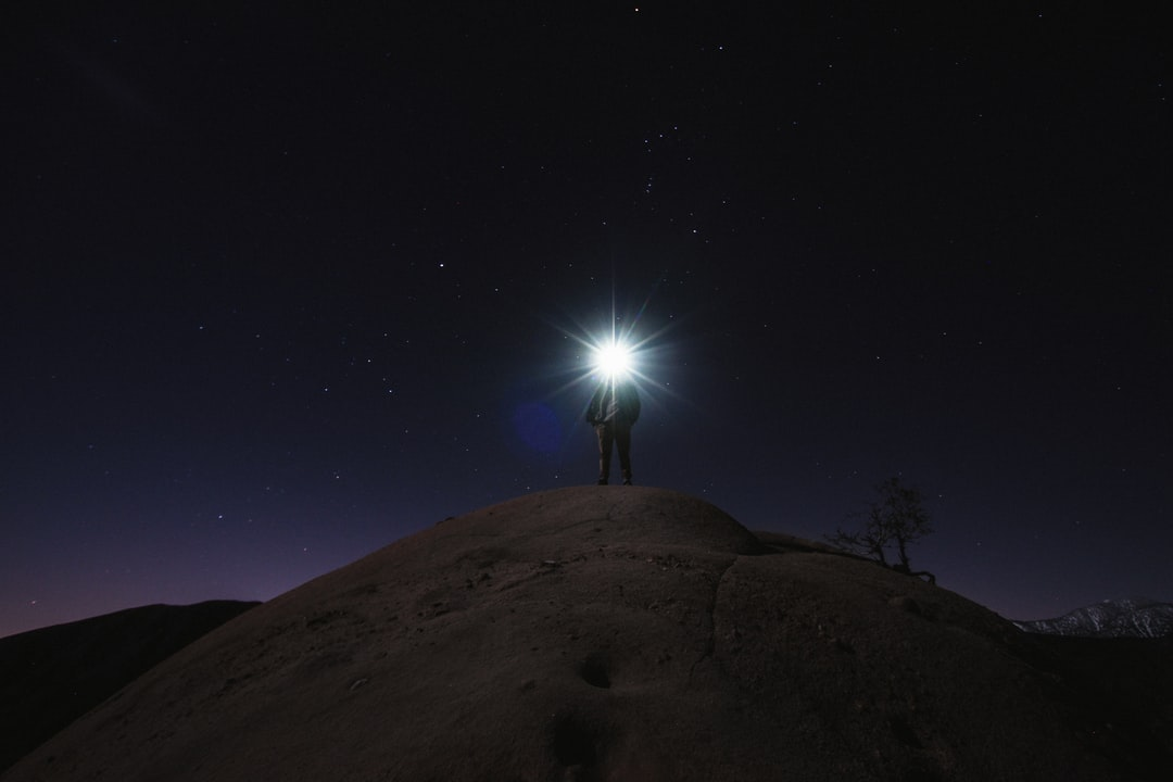 Stars Flashlight Cajon Pass