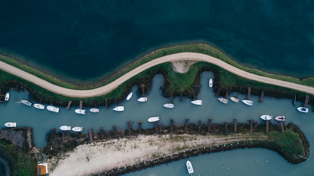 aerial photography of islands near body of water at daytime