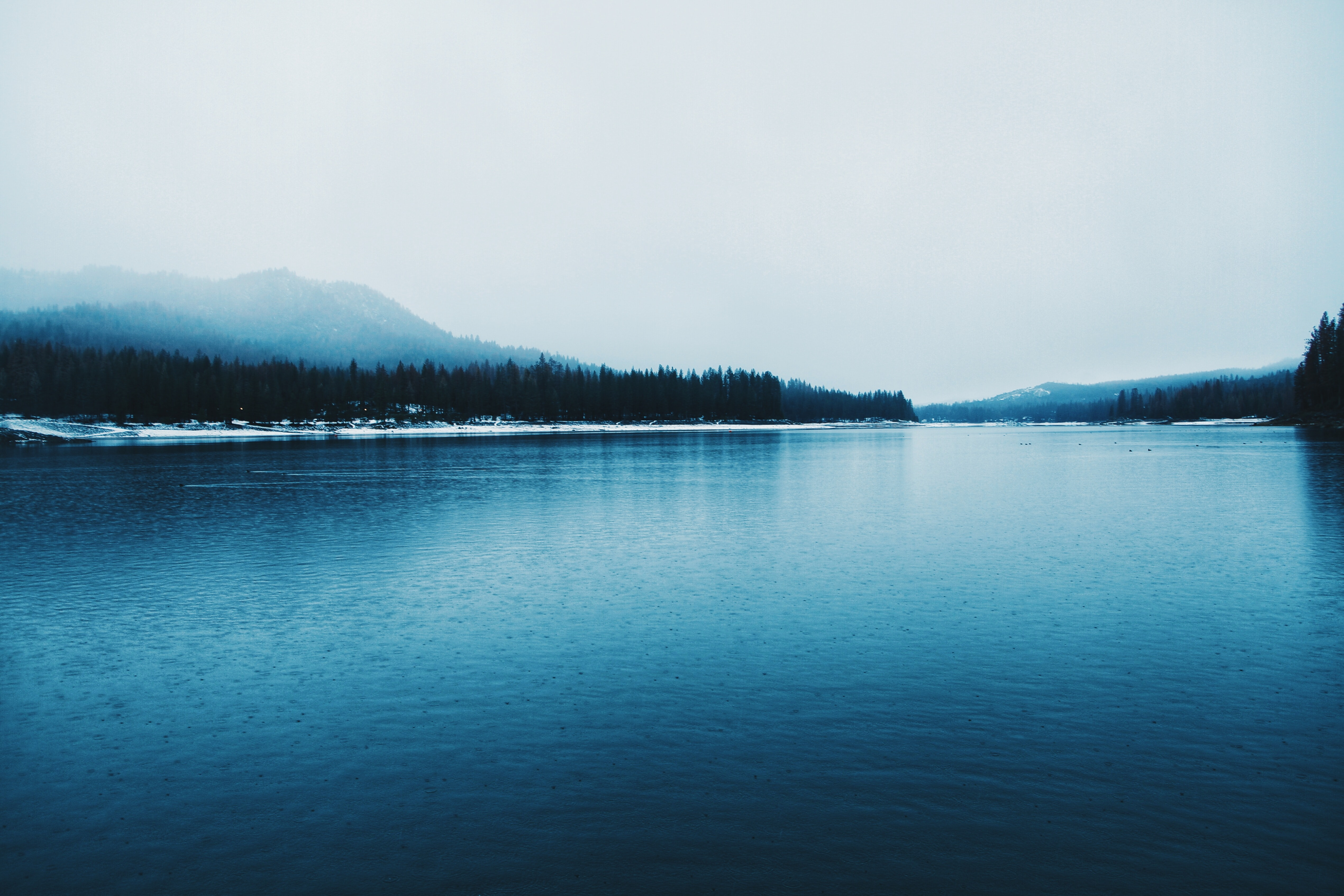 long exposure photo of body of water
