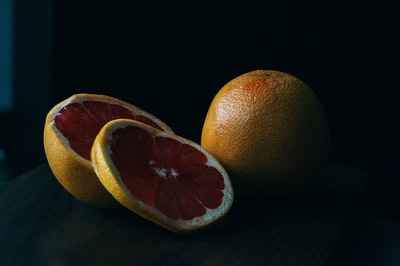 A grapefruit from the dark side.