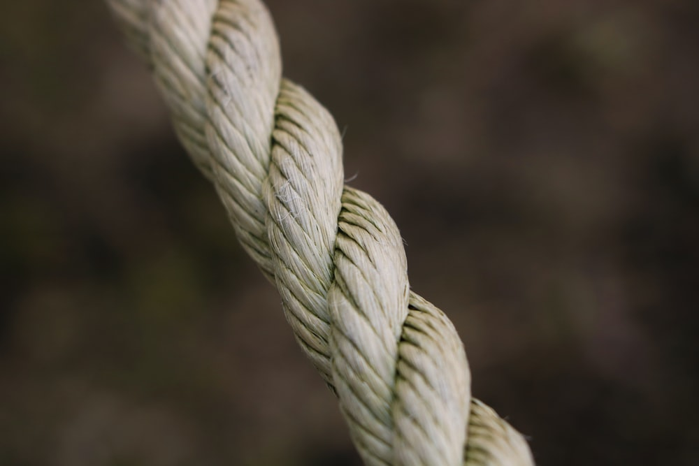 beige rope