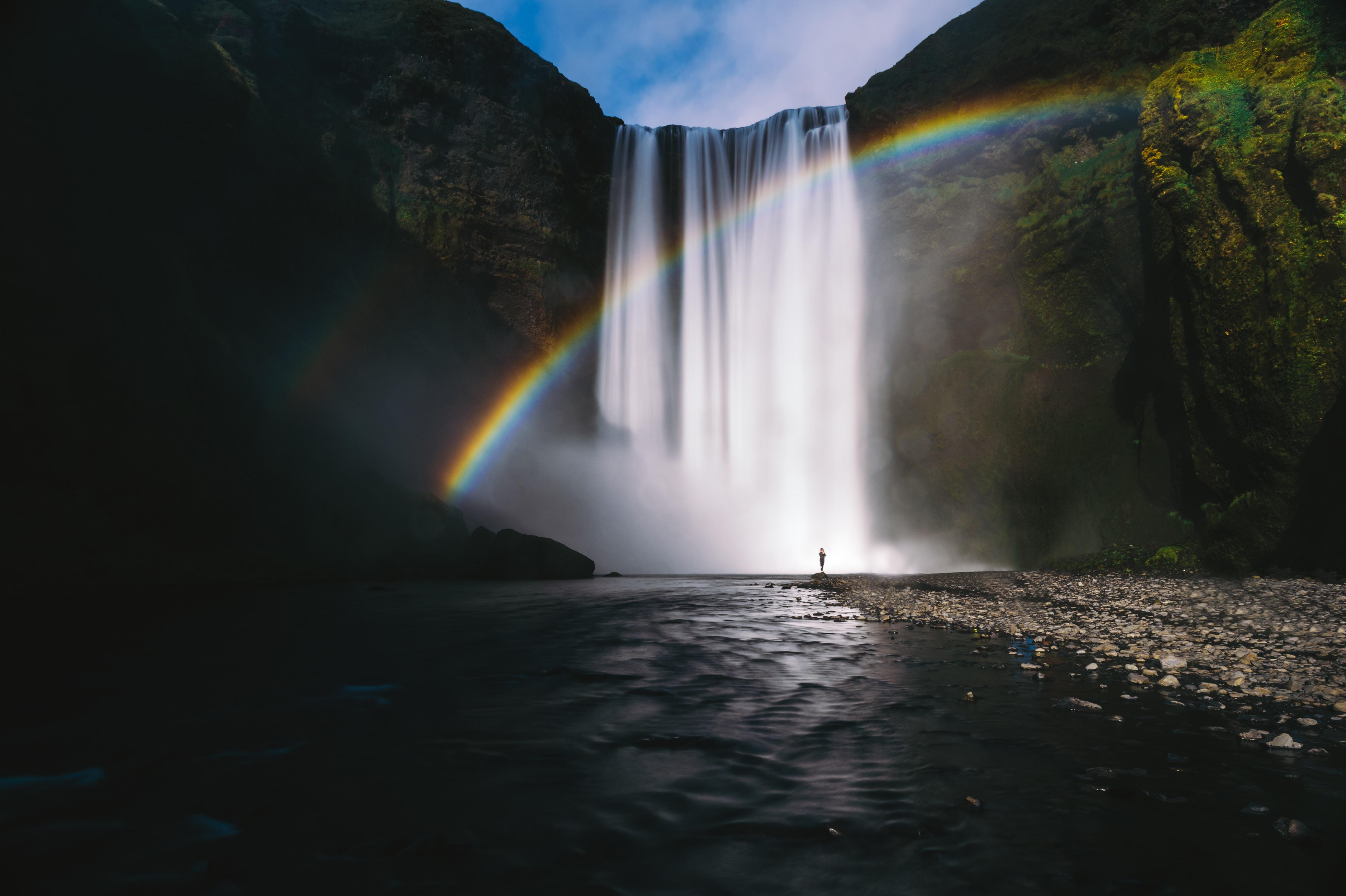 skogafoss falls