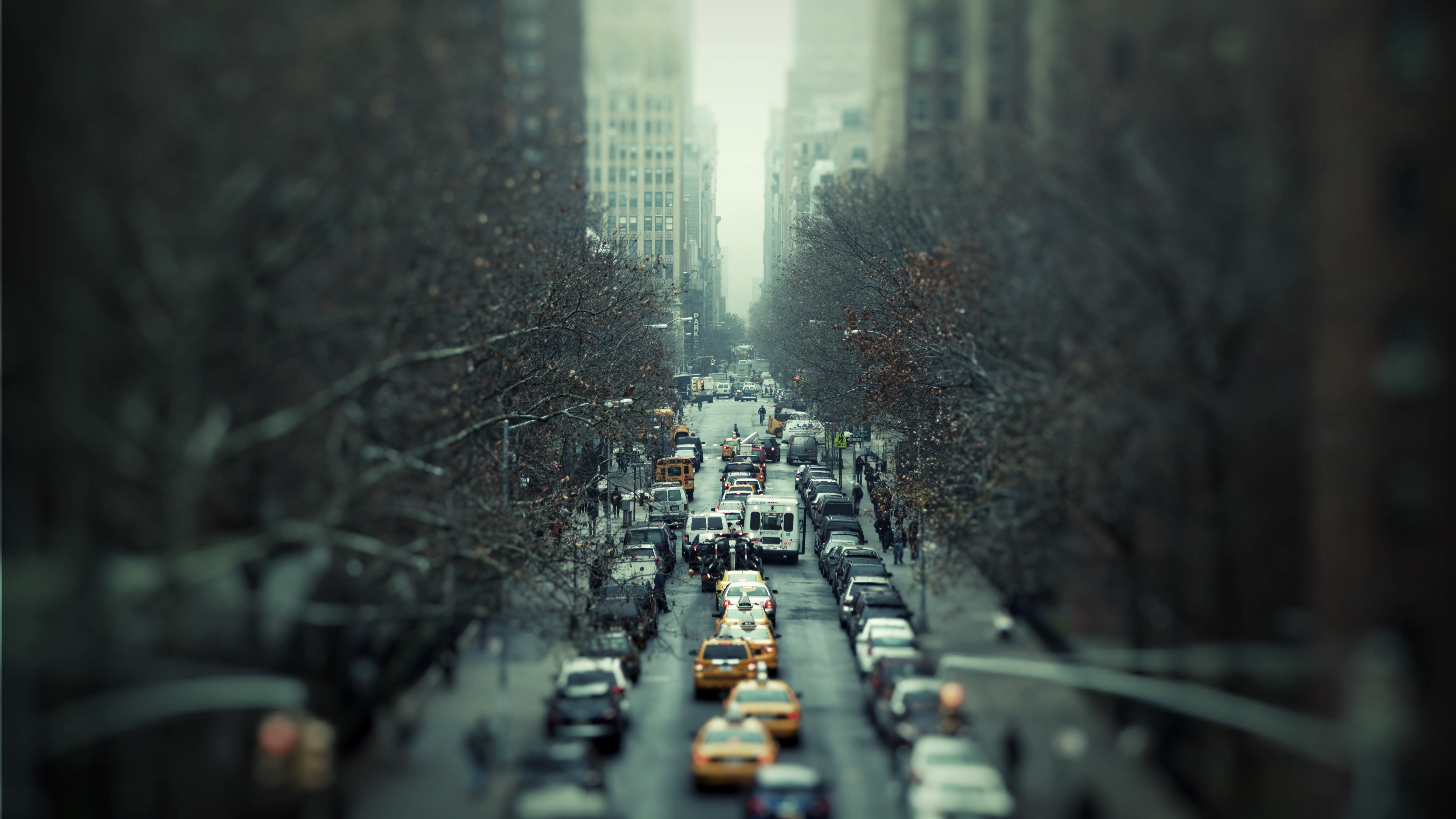 selective focus photography of cars during daytime