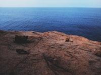 rocks on rock cliff