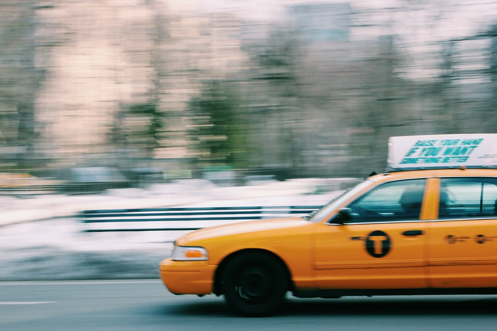 photo of yellow taxi