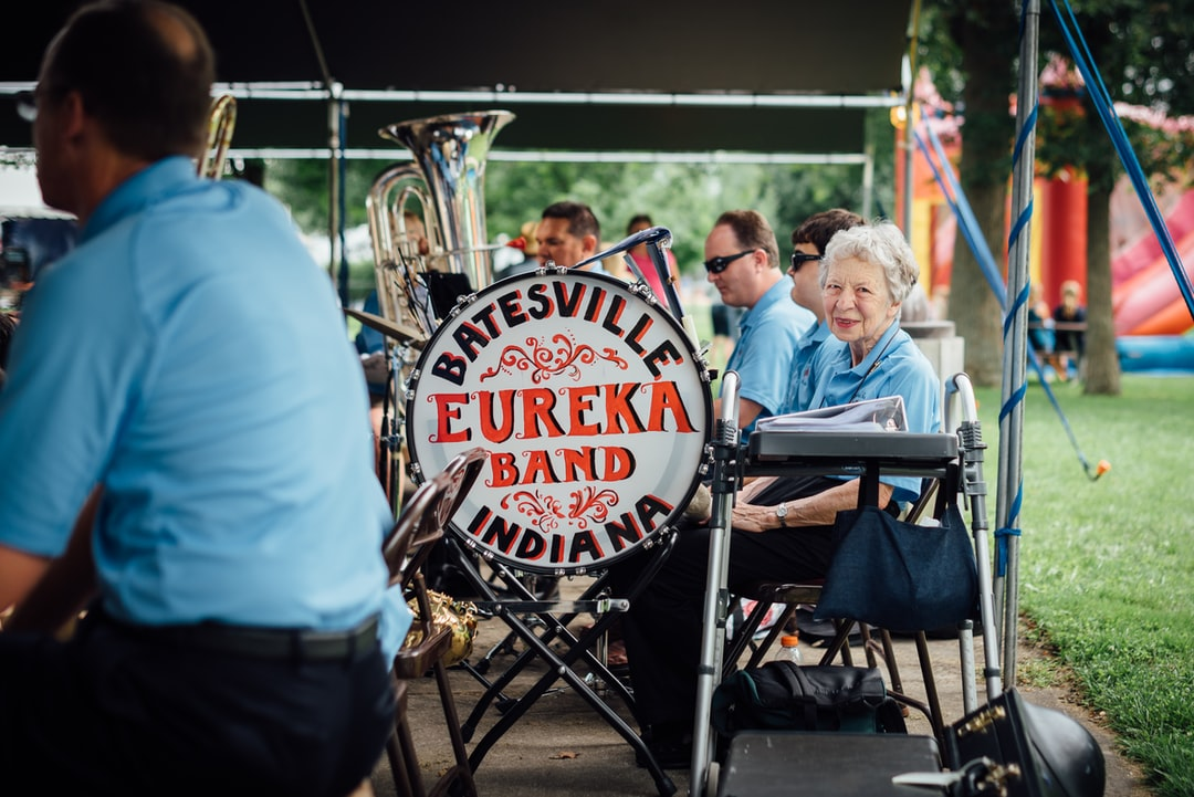 Batesville's Eureka Band during performance