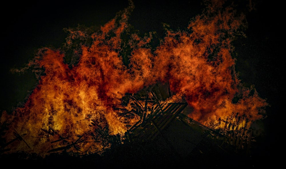 burning structure