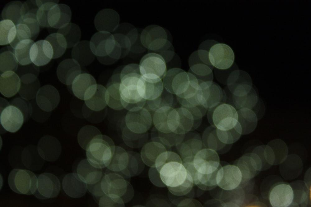 faded green lights digital wallpaper