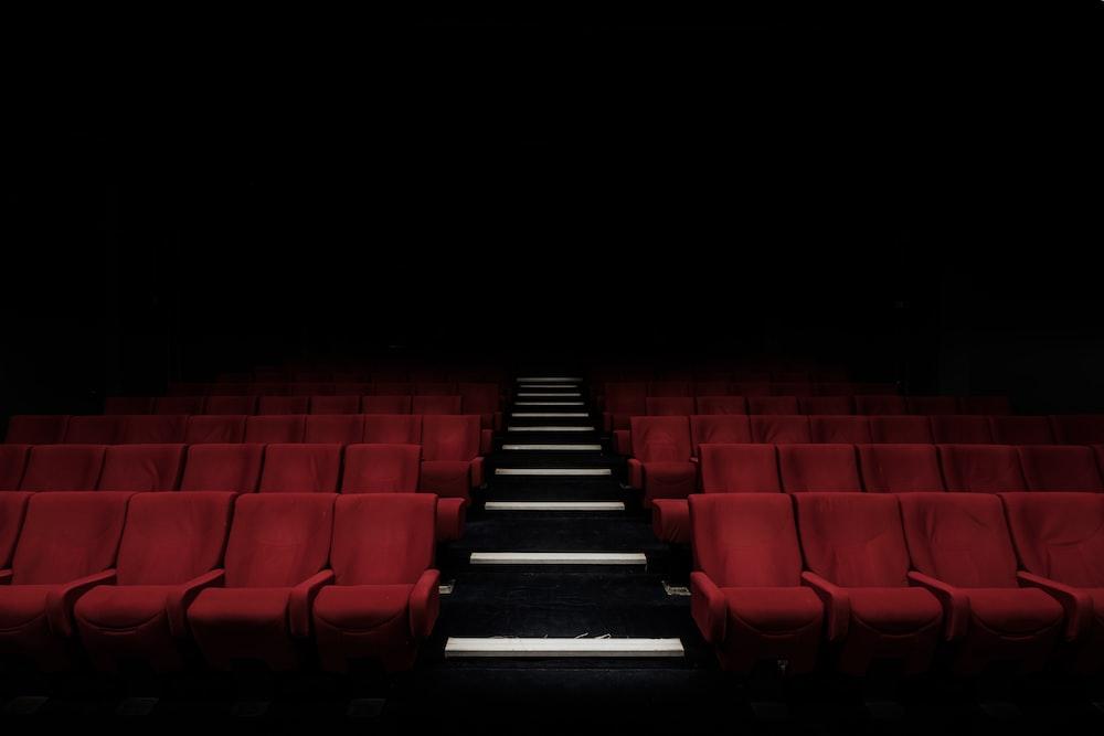 red cinema chair