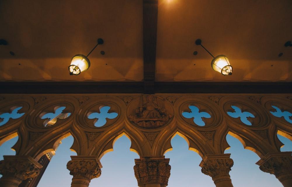 turn-on ceiling lamp