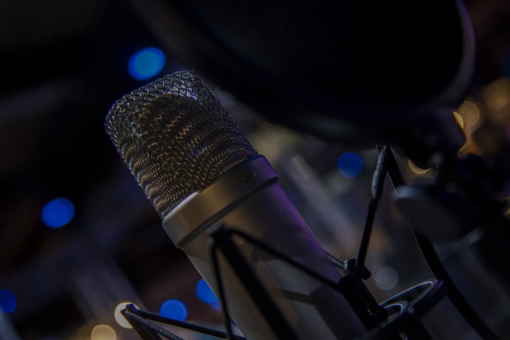 Macro of microphone and recording equipment