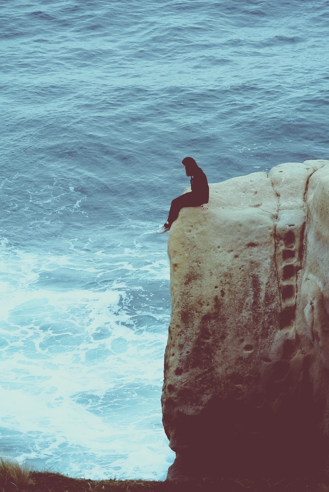 This is risky business, the waves come high and the fall is long, the wind is rough and rock is below.