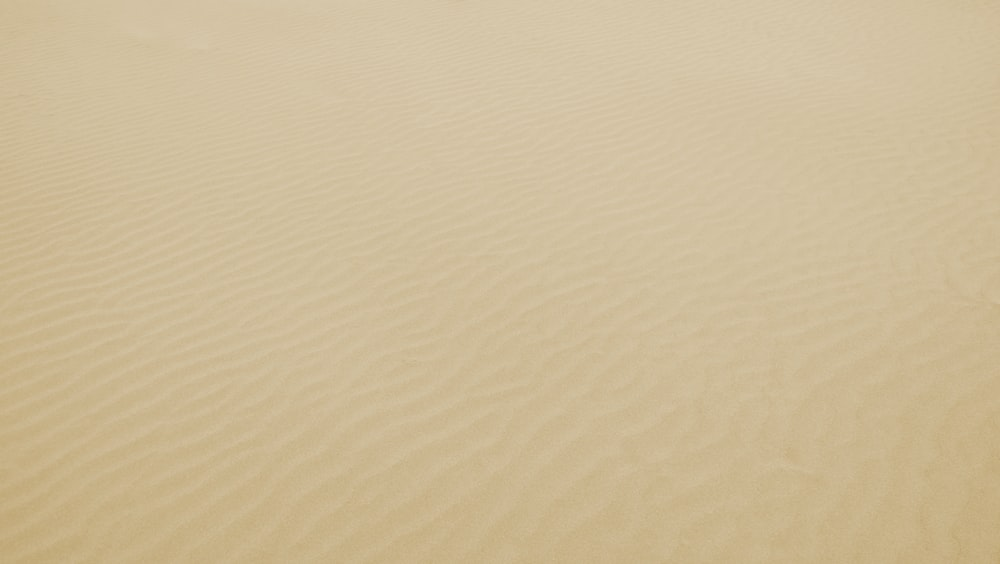 bird's eye view of desert