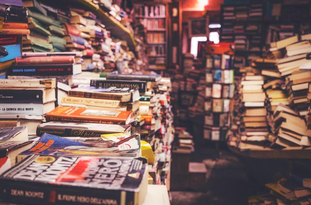 Heaps of books