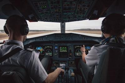 Beschreibung des Fotografen: Pilots taking off