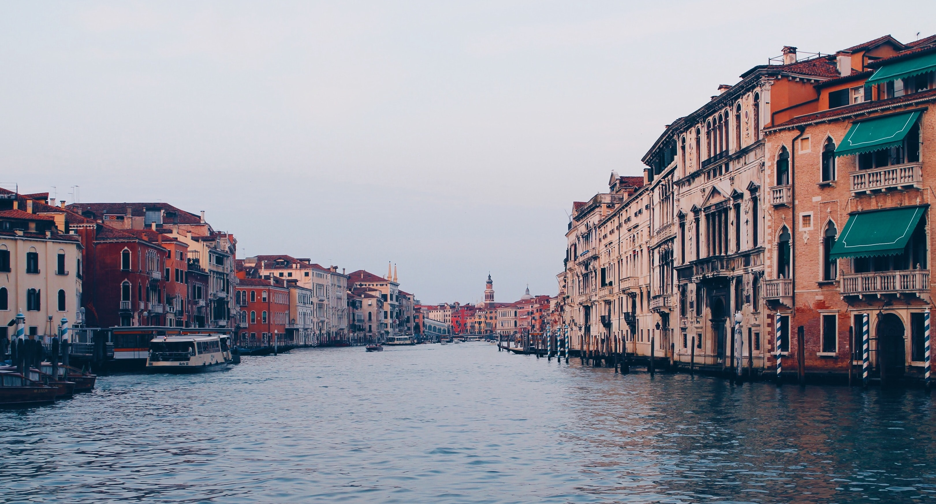 architectural photography of Grand Canal Italy