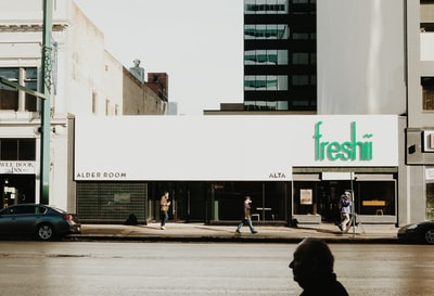freshii store facade store zoom background
