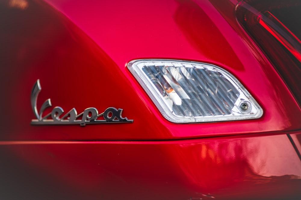 silver vehicle car headlight