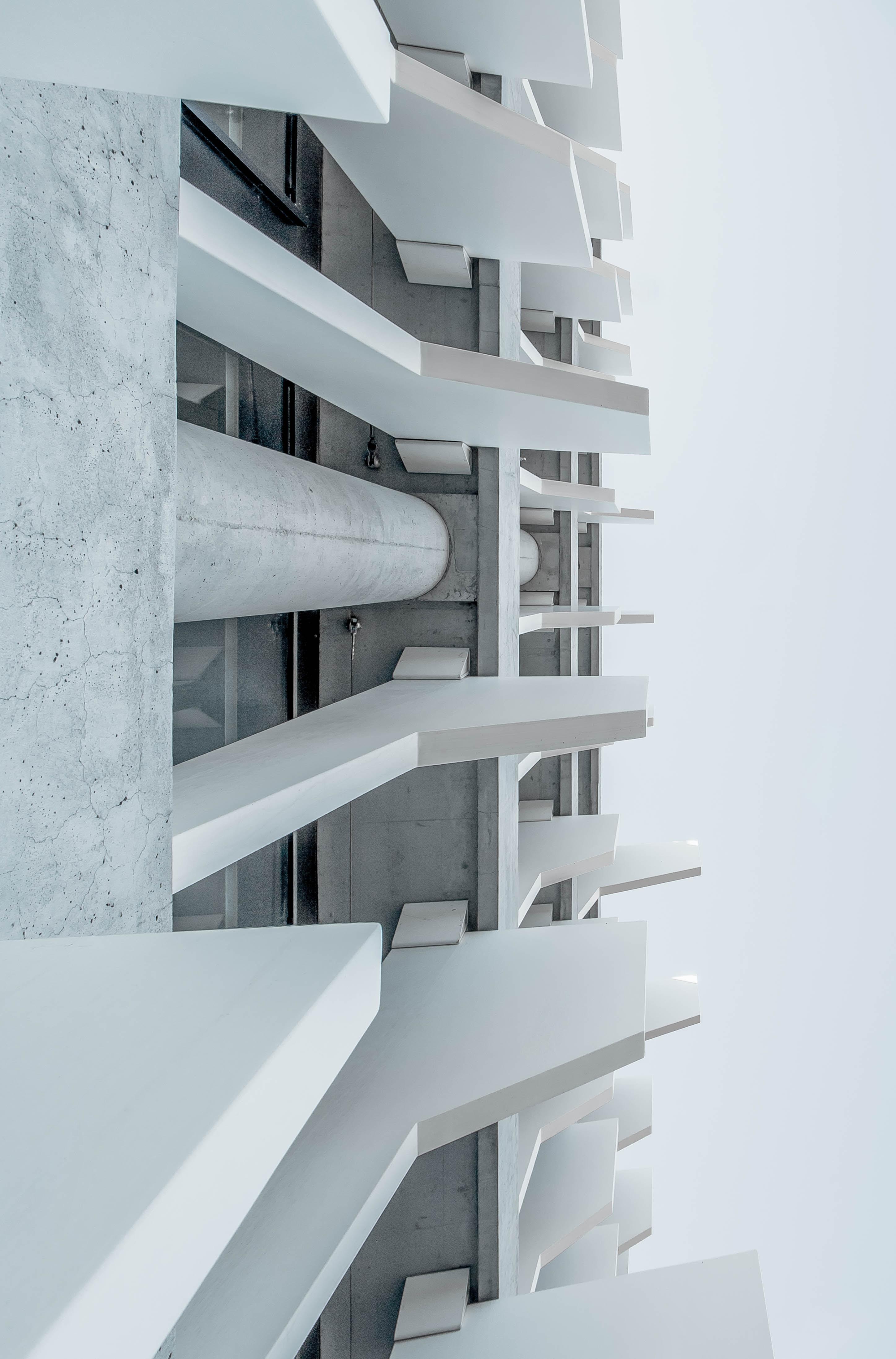 """""""White concrete facade"""""""