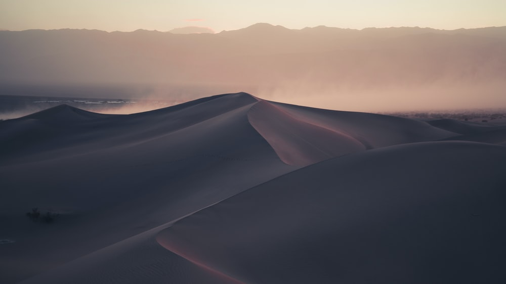 photo of brown desert