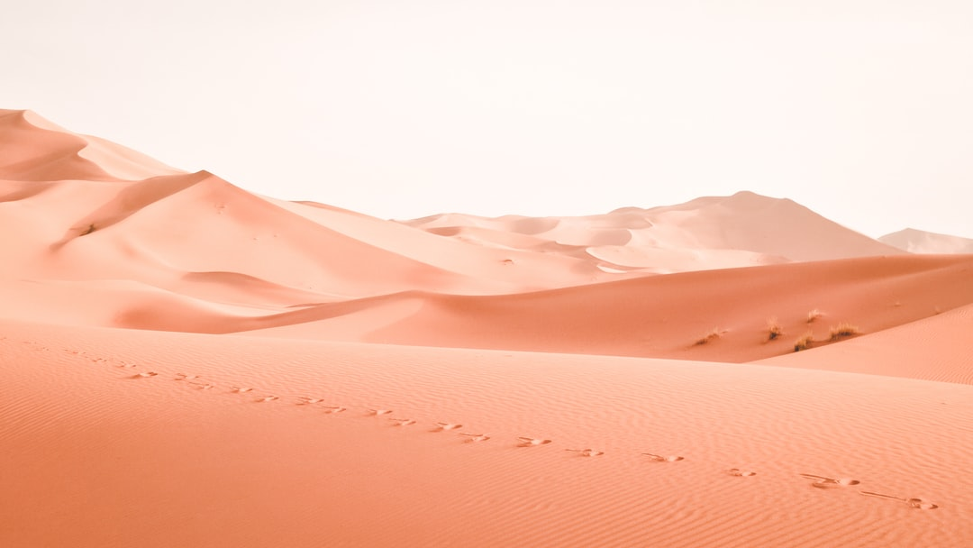 landscape photography of dessert in Morocco