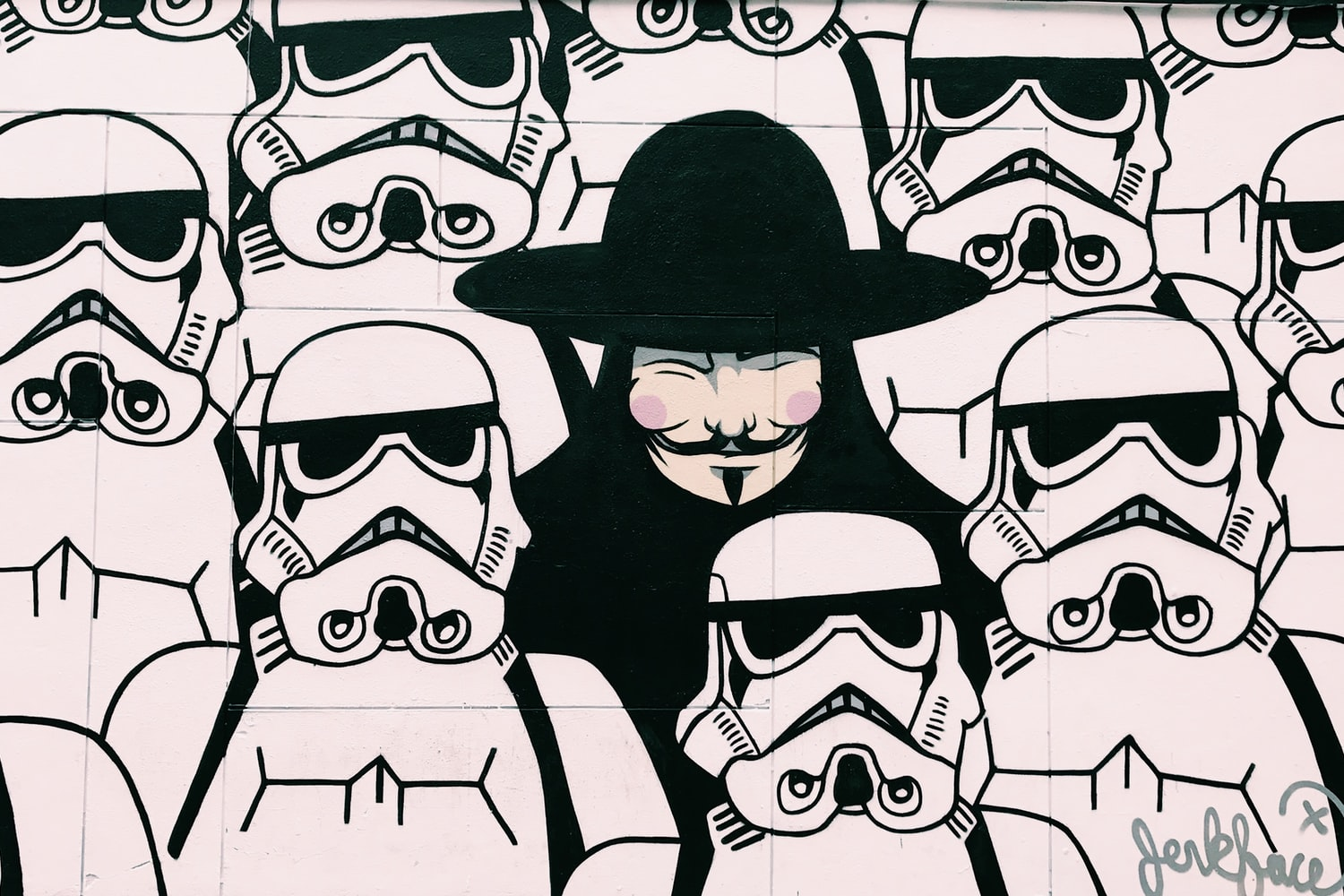 Anonymous Stormtroopers