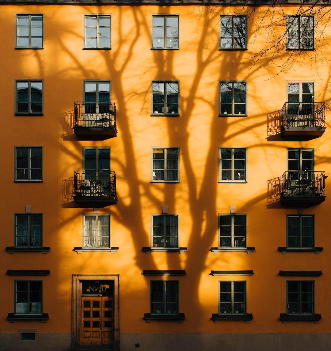 Building Orange Sweden And Stockholm Hd Photo By Jon