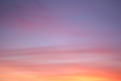 pink, yellow, and purple cloudy sky