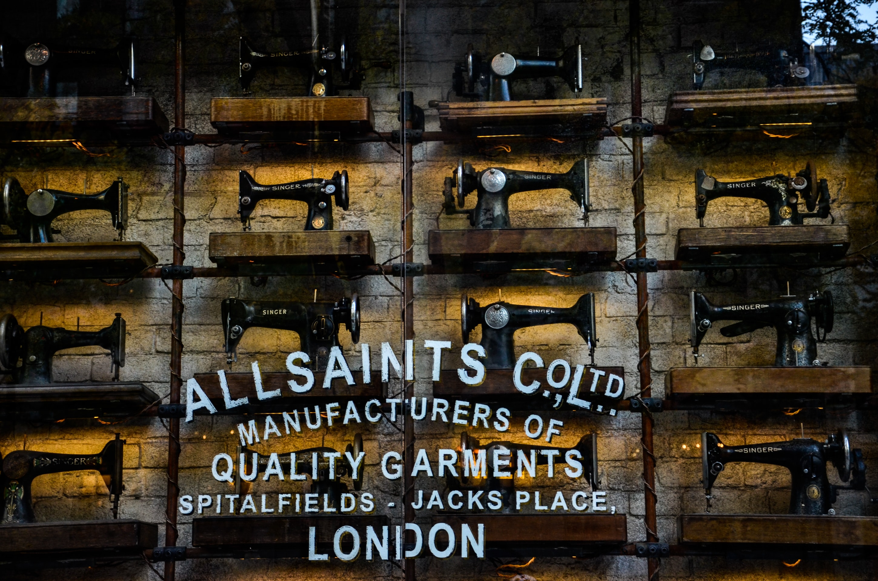 All Saints factory
