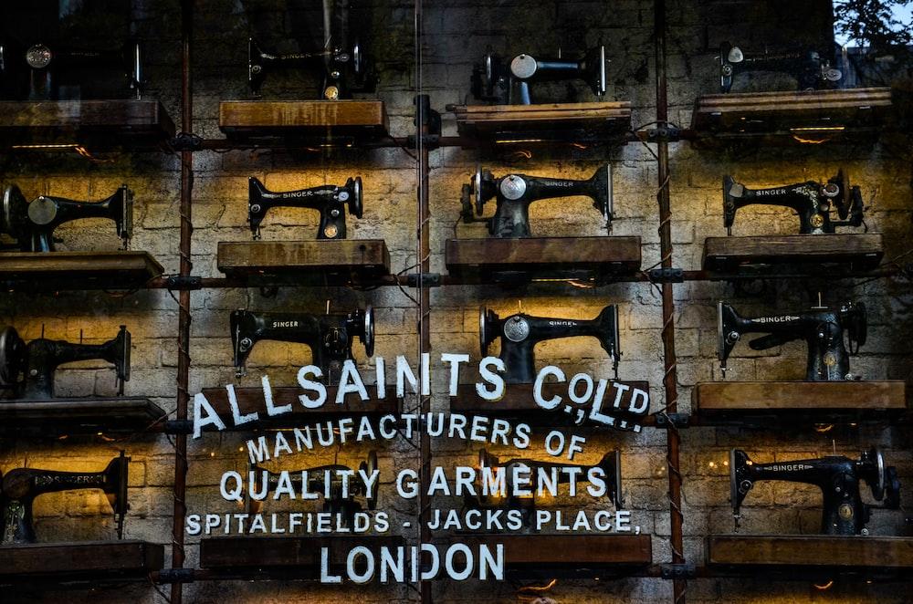 All Saints factory