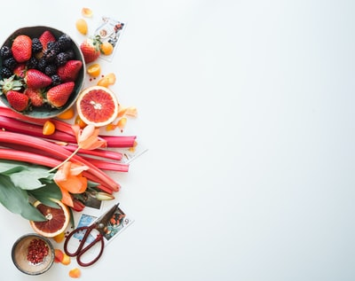 'Tis the season of rhubarb. And strawberry. And blood orange. Praise be. Amen.