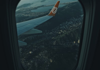 plane view photography of city rio de janeiro teams background
