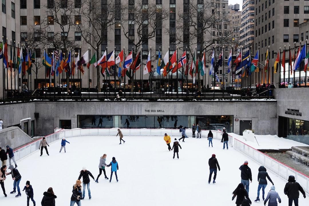 Ice-skating in Rockefeller Center