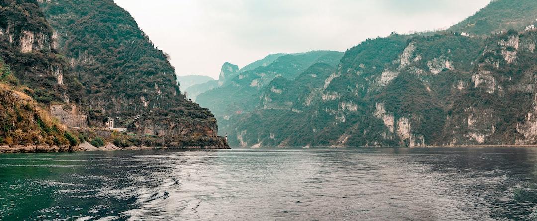 A view of Yangtze River, China