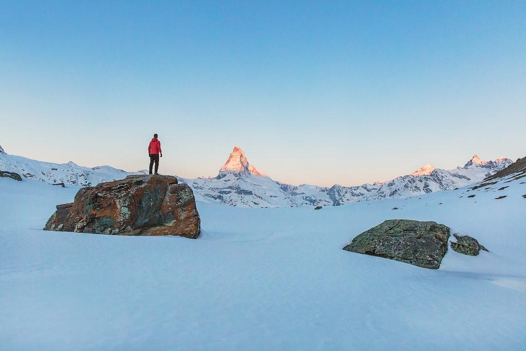 Switzerland winter alps
