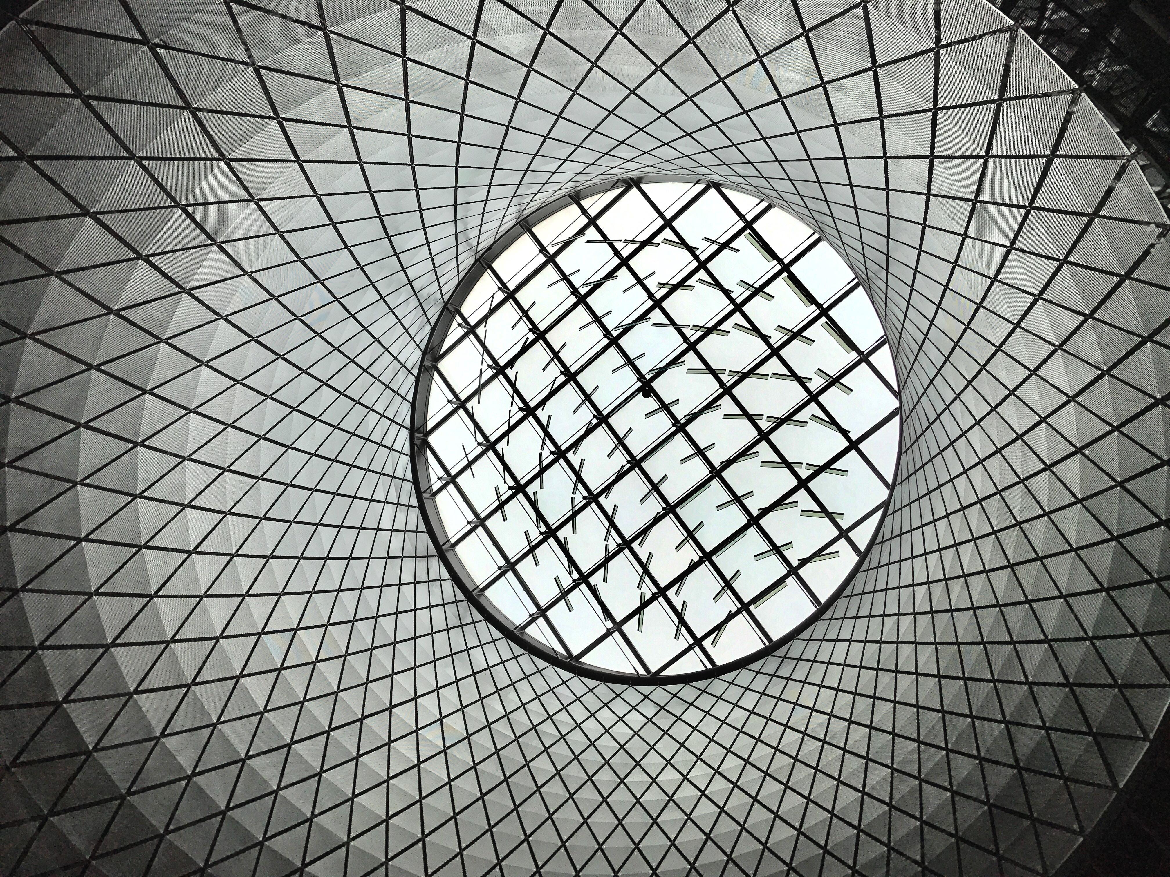 gray and white optical illusion