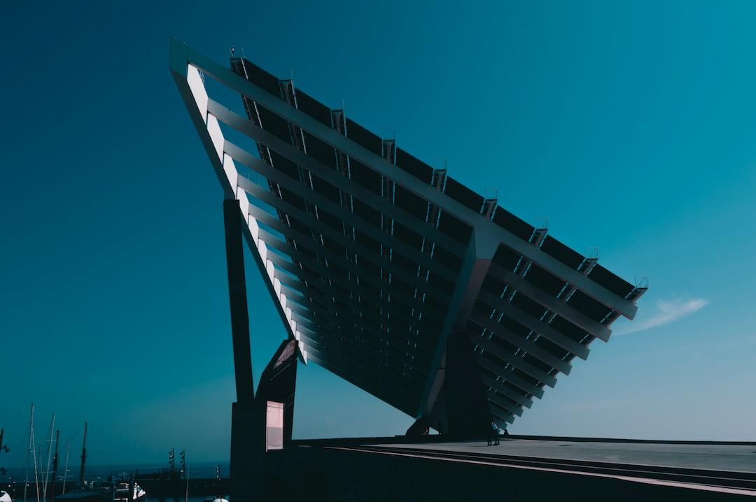 Giant Solar Panel