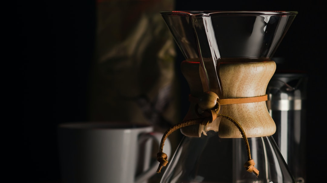 I got this Chemex for my birthday and I love it, so here is a picture.