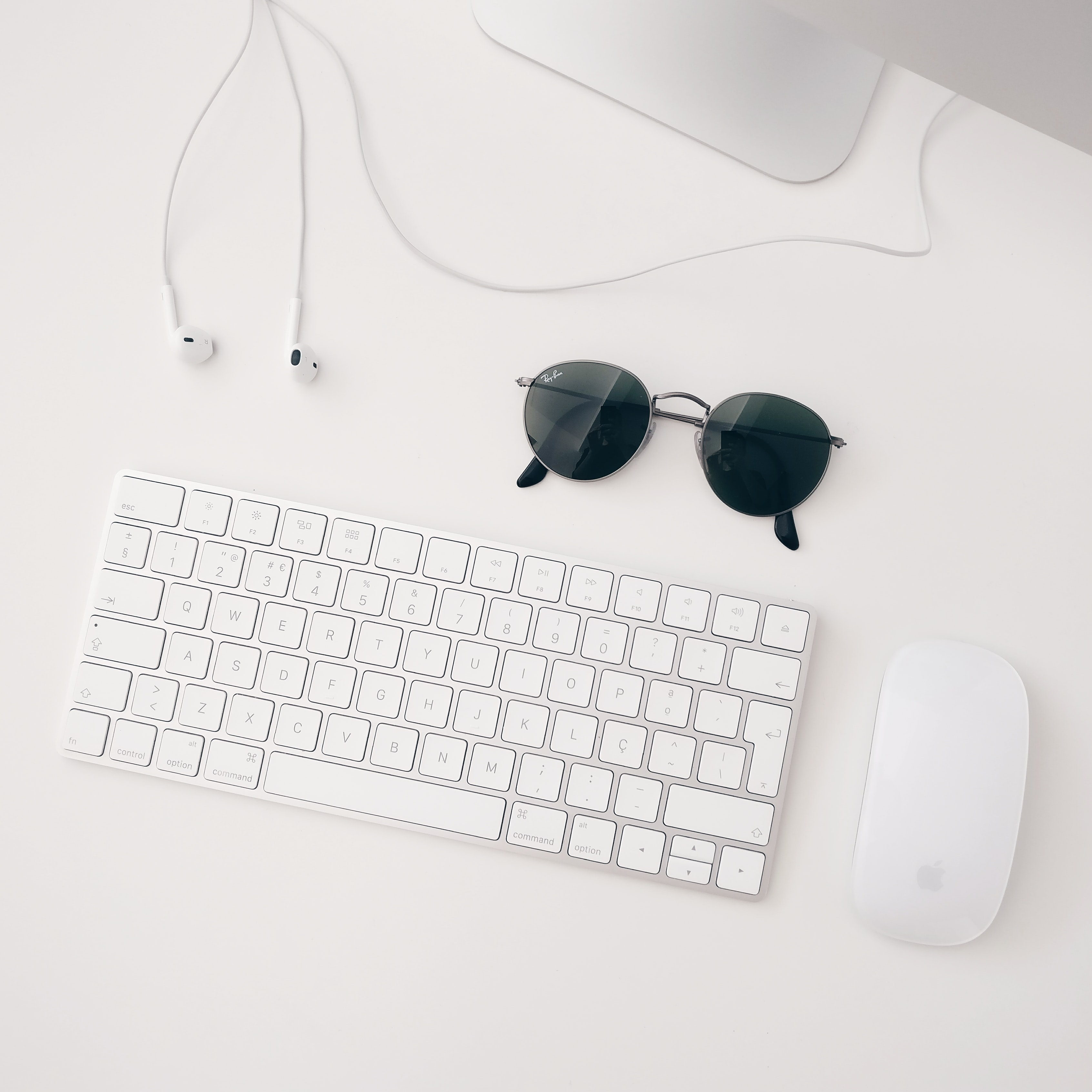 Apple Magic keyboard and mouse