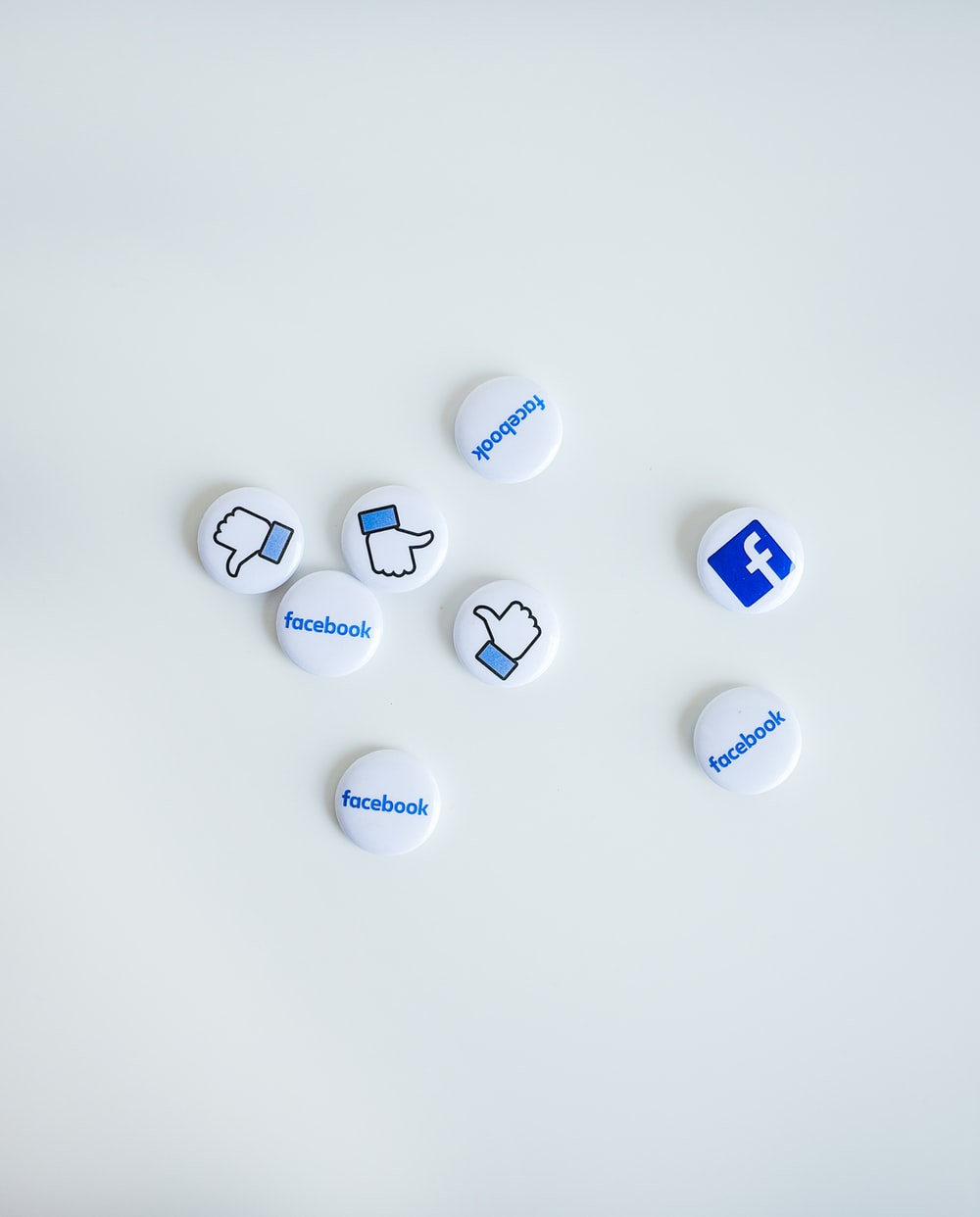 facebook button pins