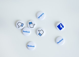 facebook button pins