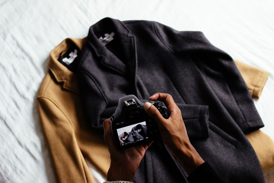Photographing coats