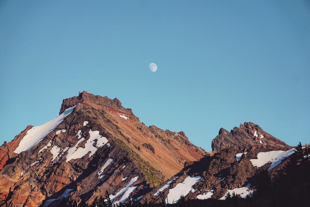 rocky mountain taken at daytime