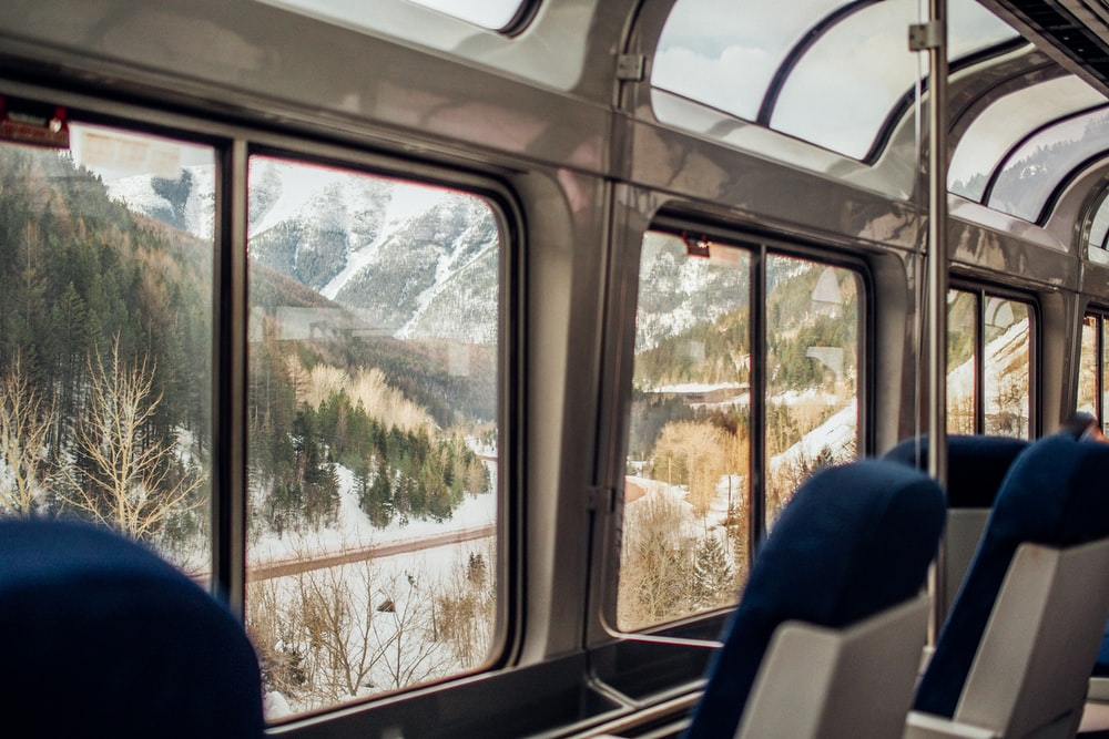 why bus and train travel are great