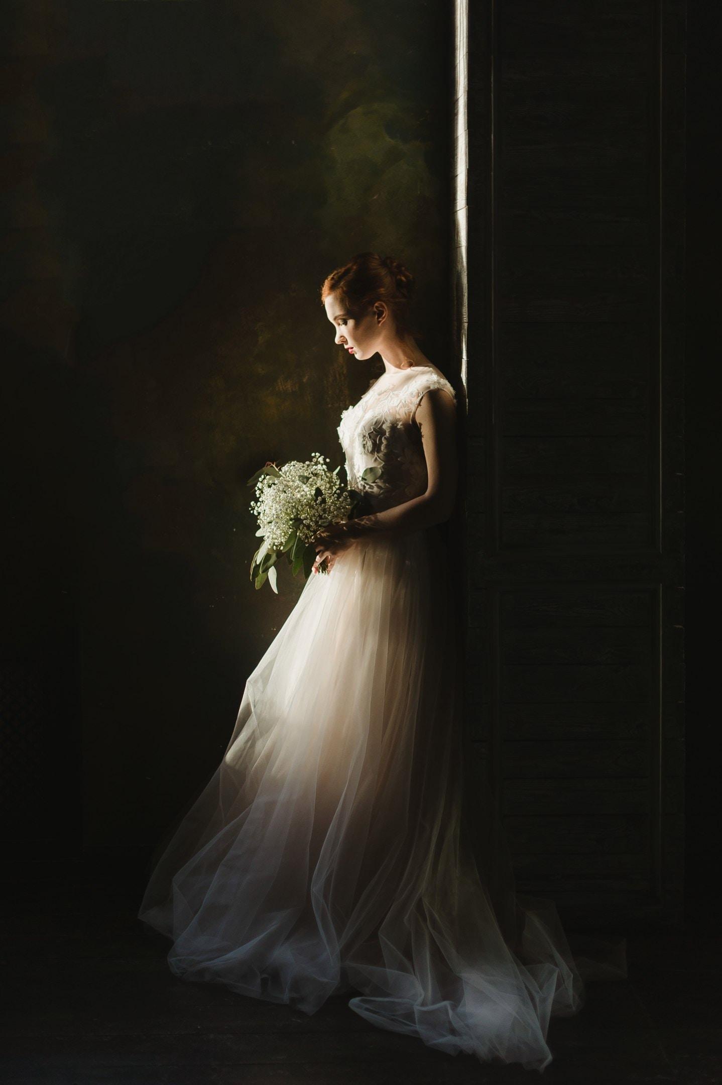 Taeyang Wedding Dress Outfit