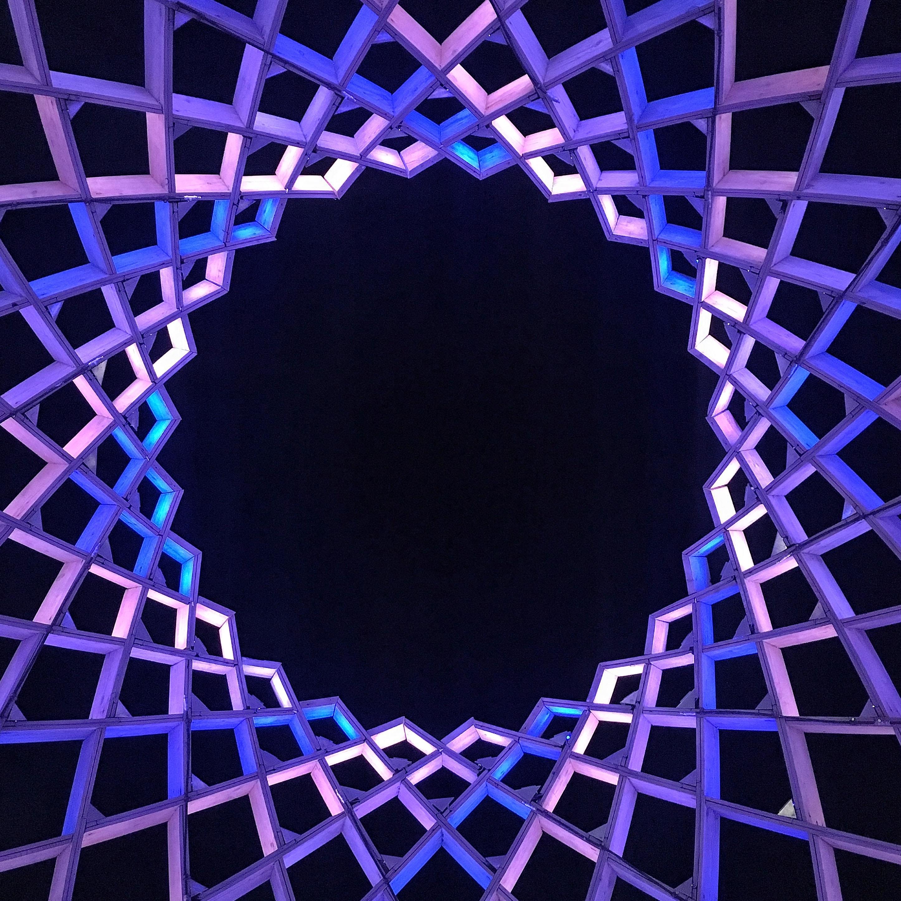 purple frame graphic