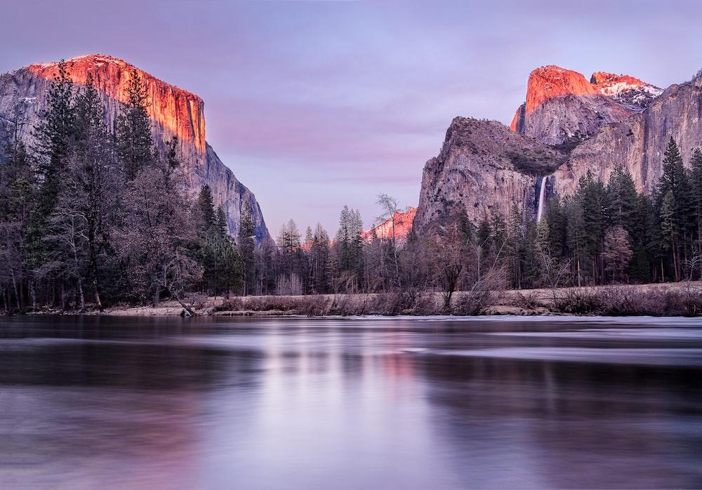Yosemite National Park digital wallpaper