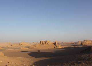 landscape photo of desert