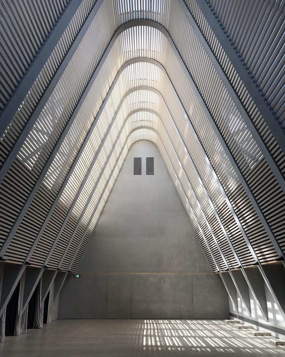 landscape photo of building interior