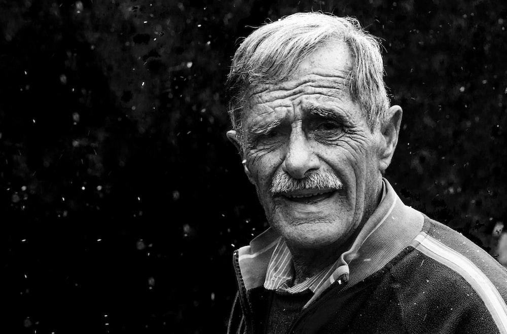 man wearing jacket portrait photograph